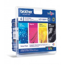 Brother Kartuša LC1100VALBP, ValuePack DCP6690 MFC6490/6890/5895/490 DCP385/592